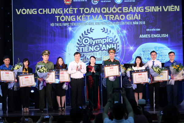 Chung ket Olympic Tieng Anh 2018