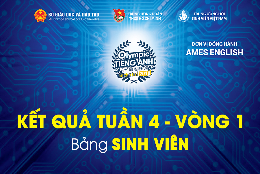 olympic tieng Anh 2018