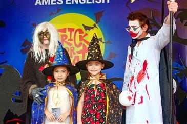 """Vui hết cỡ với """"Halloween Party"""" tại khắp các chi nhánh AMES ENGLISH"""