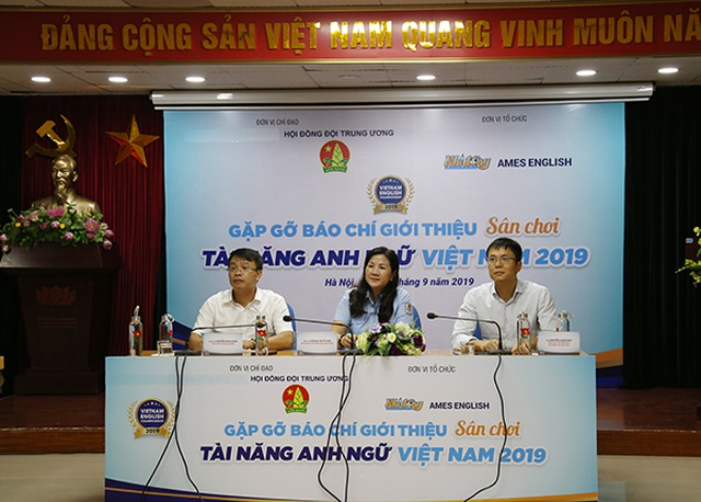 """Sân chơi """"Tài năng Anh ngữ Việt Nam 2019"""" sẽ thu hút 1 triệu học sinh tham gia"""