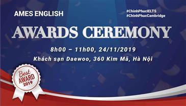 Lễ vinh danh học sinh tài năng AMES ENGLISH