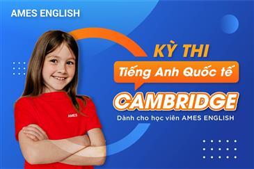 Thông báo thi kỳ thi chứng chỉ Cambridge dành cho học viên