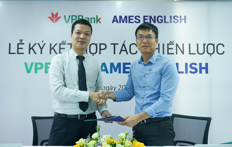 AMES ENGLISH và VPBank ký hợp tác chiến lược