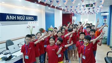 Hơn 1000 học viên nhí AMES ENGLISH tham gia Tổng khai giảng  Amazing Summer 2018