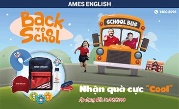 """KHỞI ĐẦU NĂM HỌC MỚI THẬT """"CHẤT"""" CÙNG AMES ENGLISH!"""