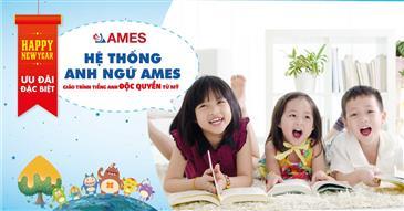 Nhân dịp đầu xuân năm mới, AMES dành tặng ưu đãi học phí đặc biệt cho khách hàng!