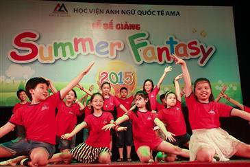 Để con yêu được thỏa sức sáng tạo tại Summer Fantasy