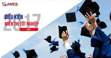 Điều kiện miễn thi tốt nghiệp 2017