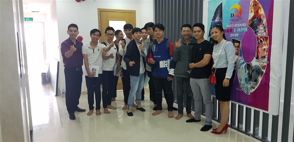 Học viên Arena Đà Nẵng tham quan Công ty Digital Works Việt Nam