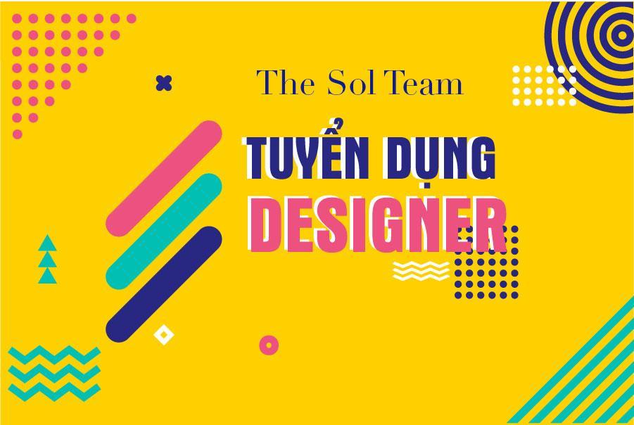 The Sol Team cần tuyển 03 designer