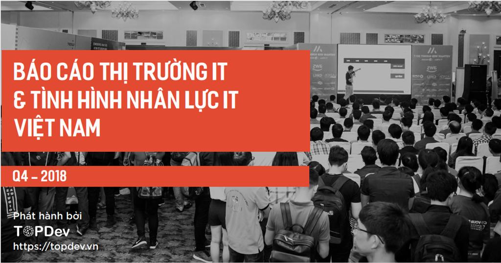 Báo cáo mới nhất về thị trường IT & tình hình nhân lực IT Việt Nam