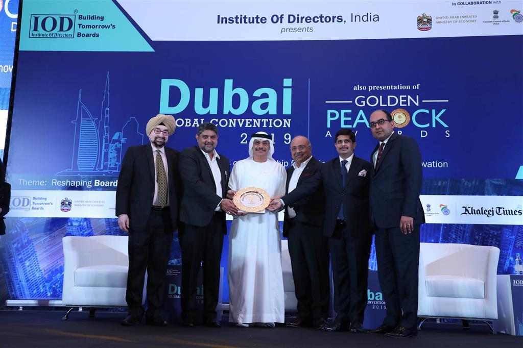 Aptech nhận giải thưởng Golden Peacock National Training Award
