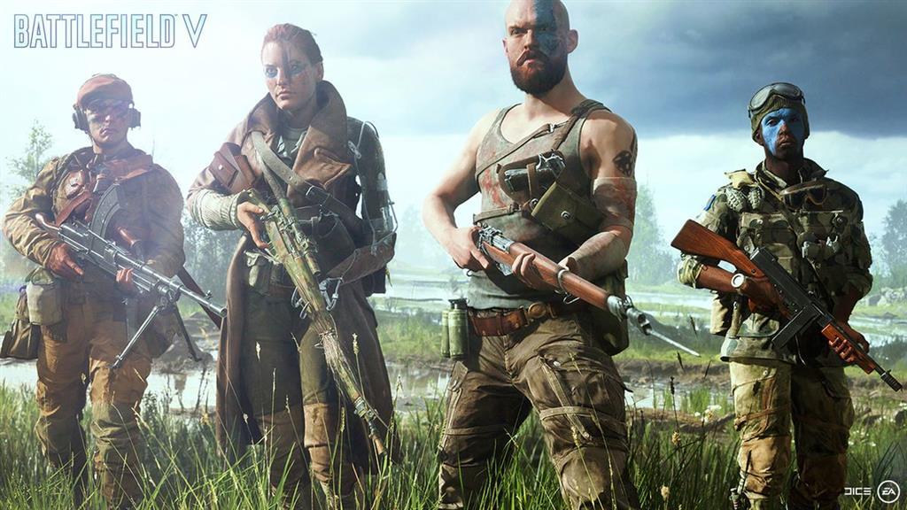 Battlefield V trở lại Thế chiến II trong tháng 10 này