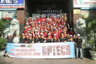 Teambuilding Aptech 2018 - Biển Xanh Vẫy Gọi