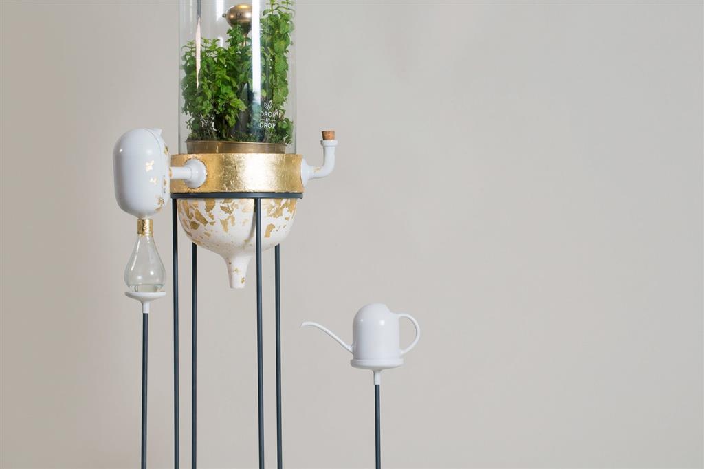 Drop by Drop là một bộ lọc nước dựa trên thực vật hoạt động như một chiếc Amazon nhỏ