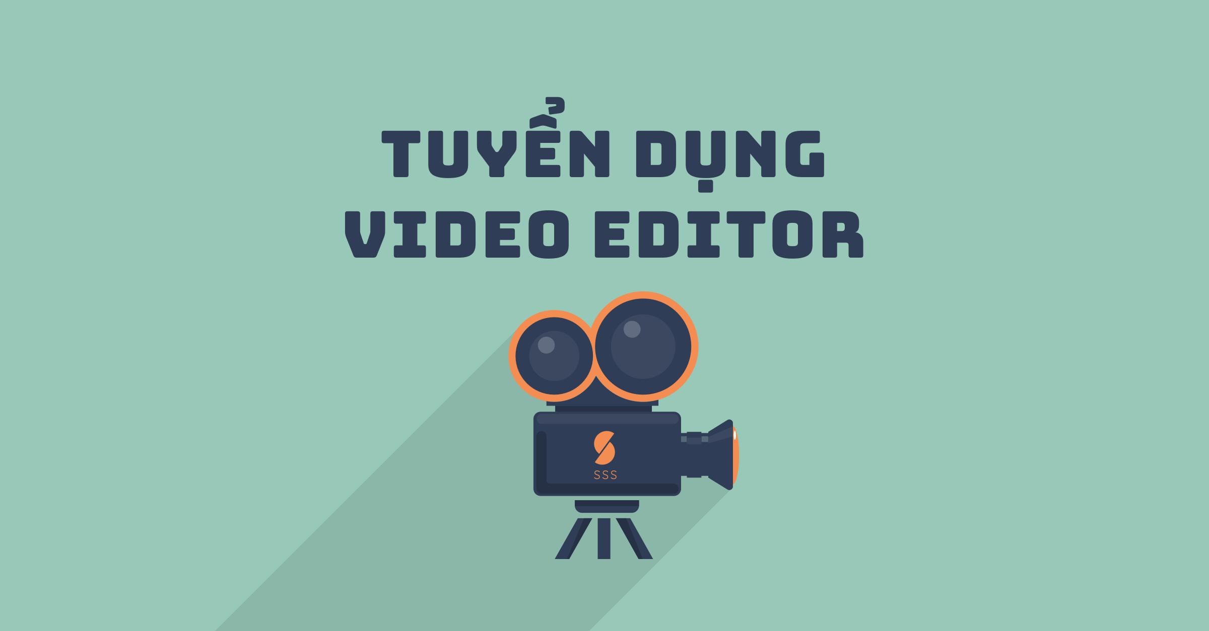 Công ty TNHH Ricci&Co tuyển dụng vị trí Video Editor