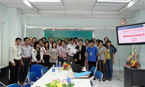 Tin tức SOFTECH tái đánh giá thành công chứng nhận CMMI (Mar 10th, 2012)