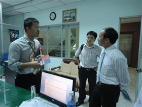 Vụ trưởng Vụ CNTT đến thăm và làm việc tại Công ty CP Softech